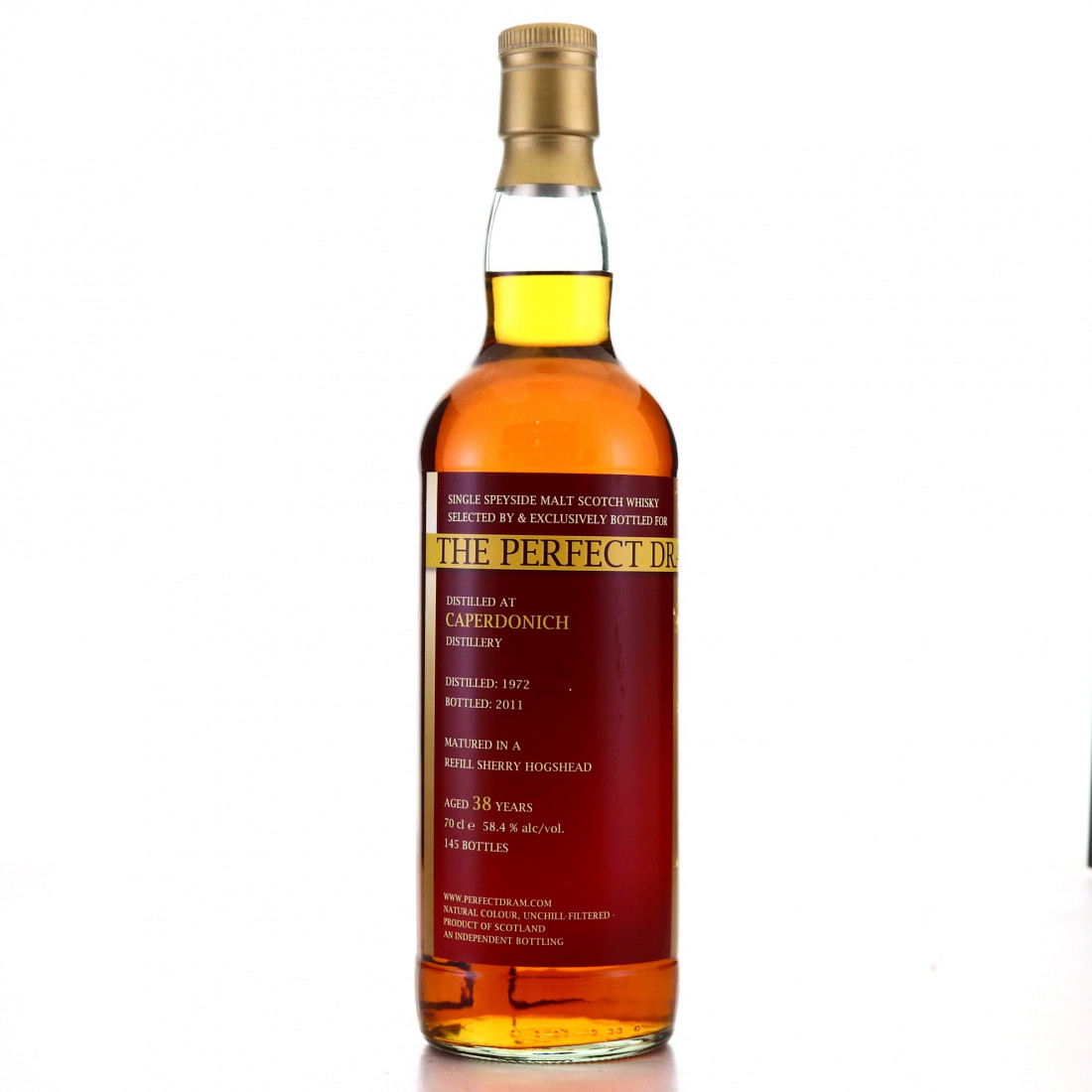 Caperdonich 1972 Whisky Agency 38 Year Old Perfect Dram