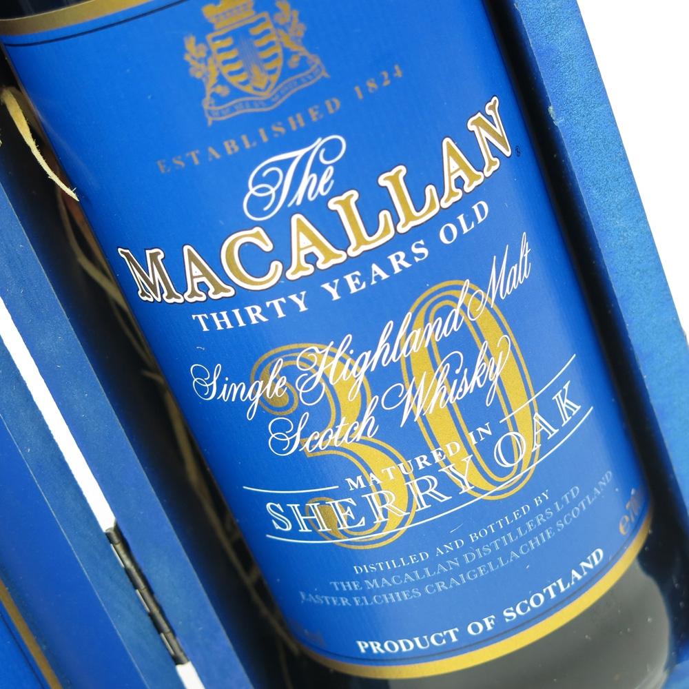 Macallan 30 Year Old Sherry Oak