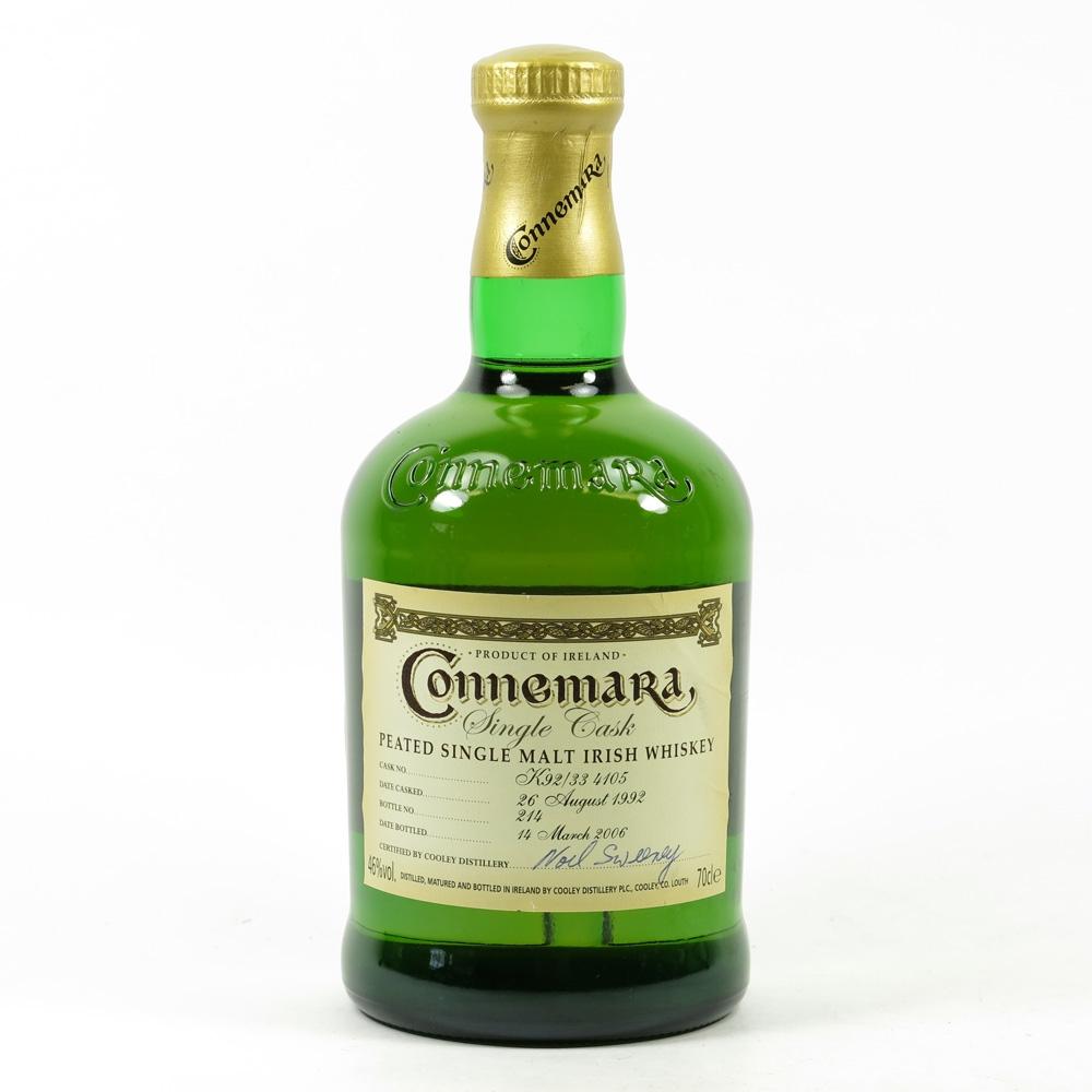 Connemara Irish Whiskey 1992 Single Cask