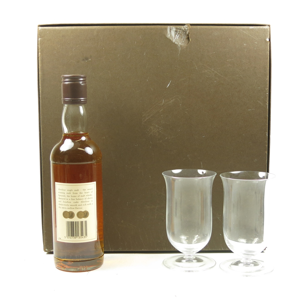 Aberlour 10 Year Old 35cl with Glasses