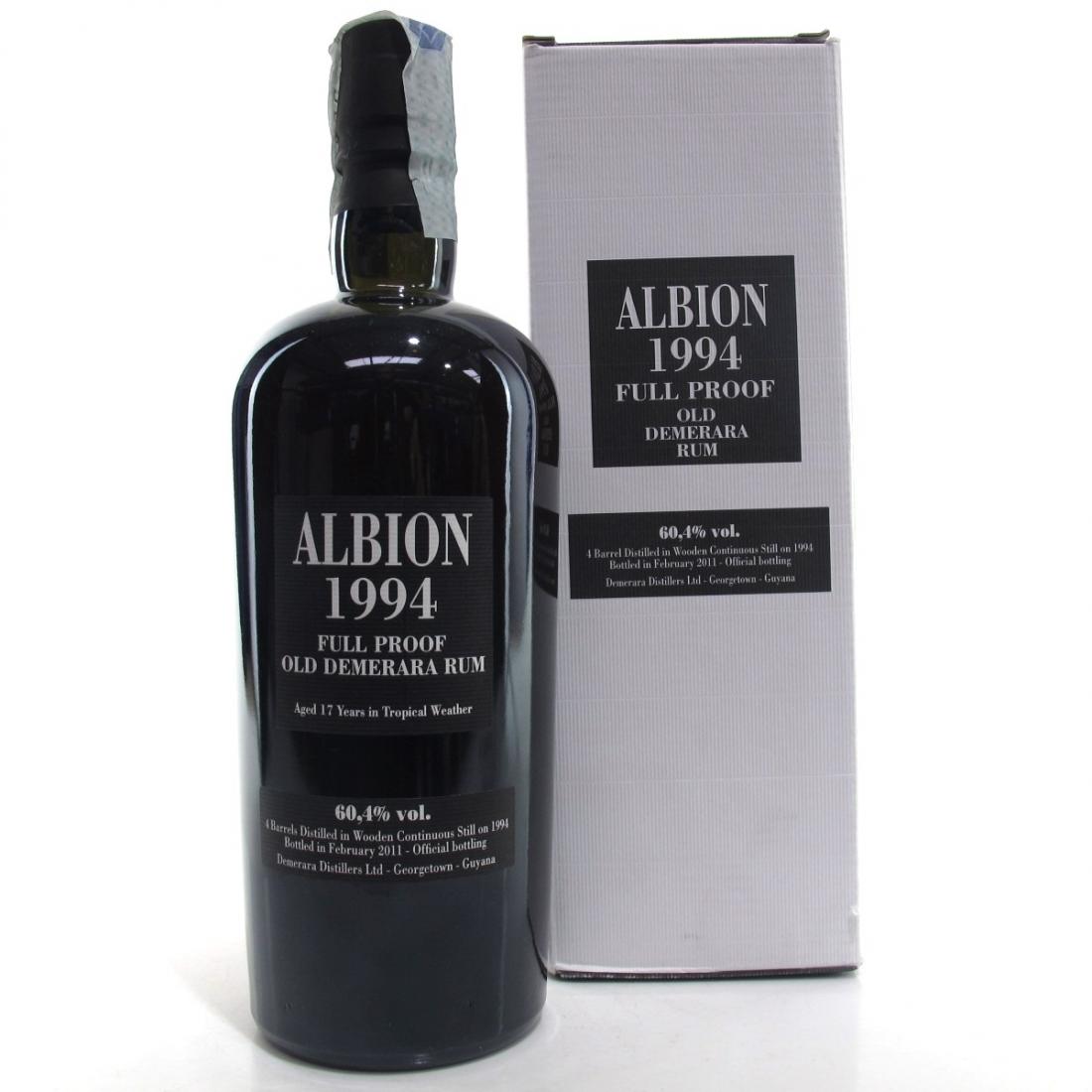 Albion 1994 Full Proof Demerara Rum 17 Year Old / Enmore