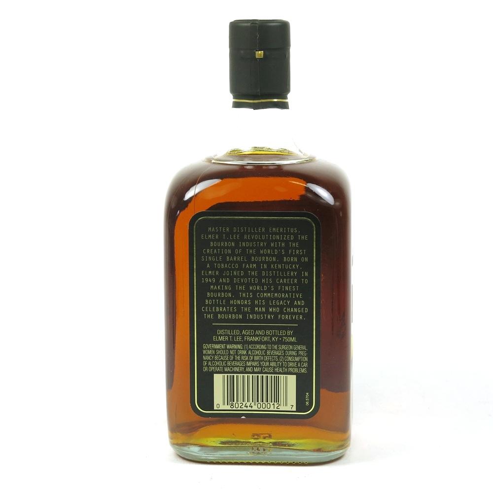 Elmer T Lee Single Barrel 1919 - 2013 Commemorative Bottle