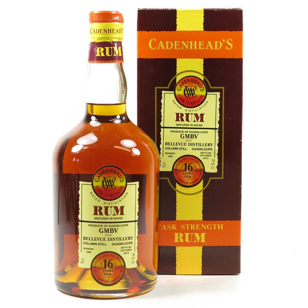 Bellevue 1998 Cadenhead's 16 Year Old Rum