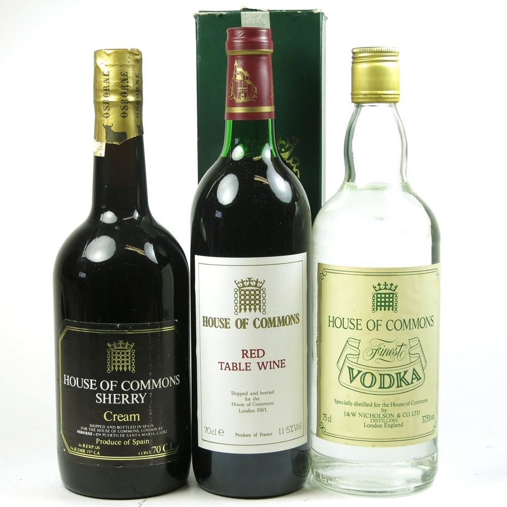 House Of Commons Beverage Selection 3 x 70cl