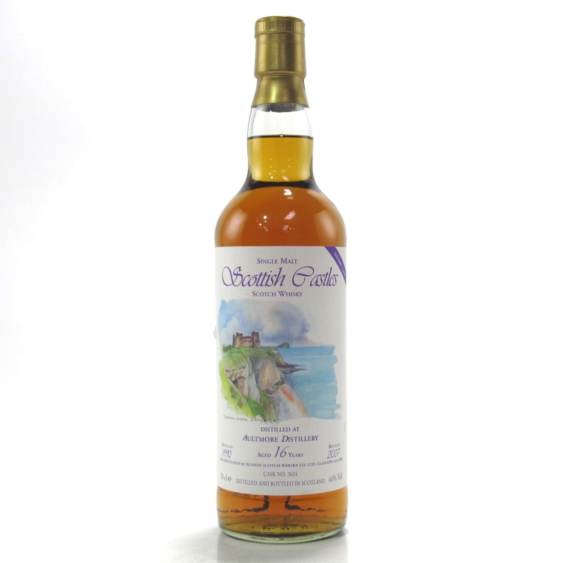 Aultmore 1990 Scottish Castles 16 Year Old