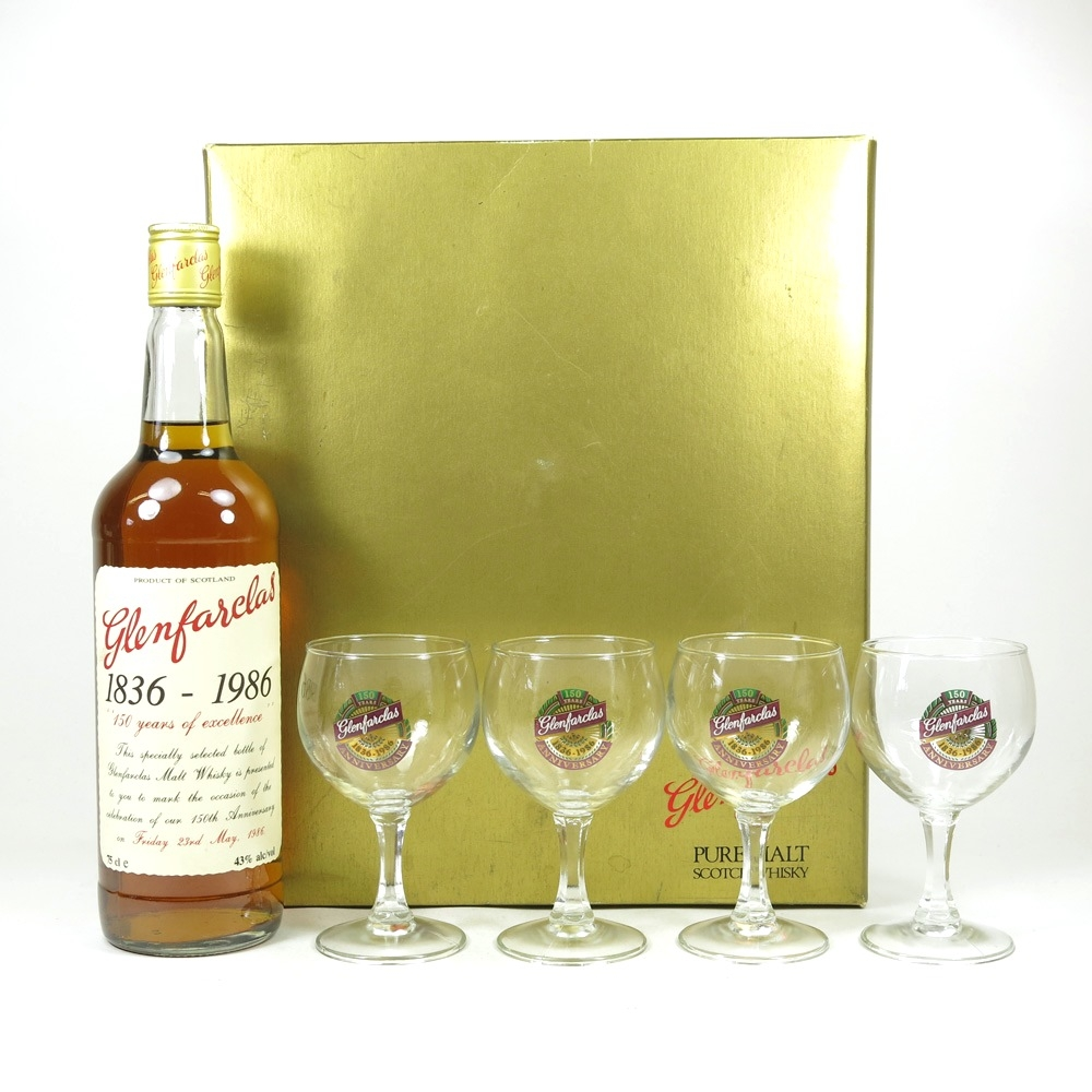 Glenfarclas 150th Anniversary Glass Pack