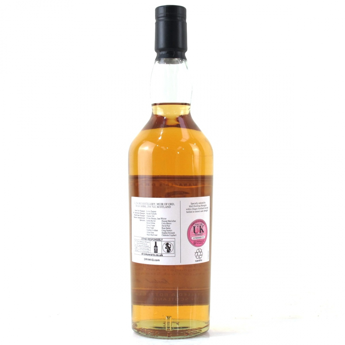 Glen Ord 16 Year Old Manager's Dram 2016