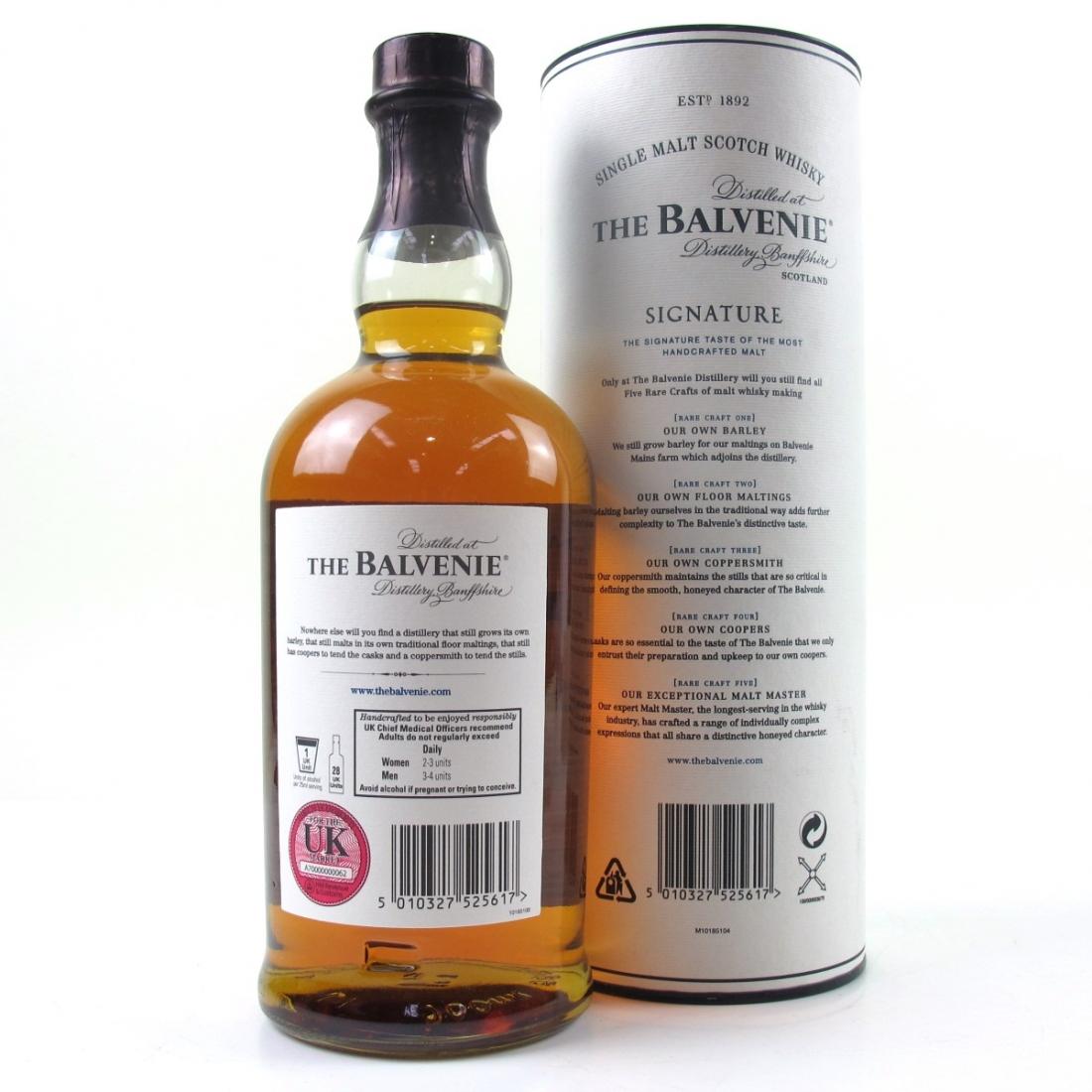Balvenie 12 Year Old Signature Batch #005