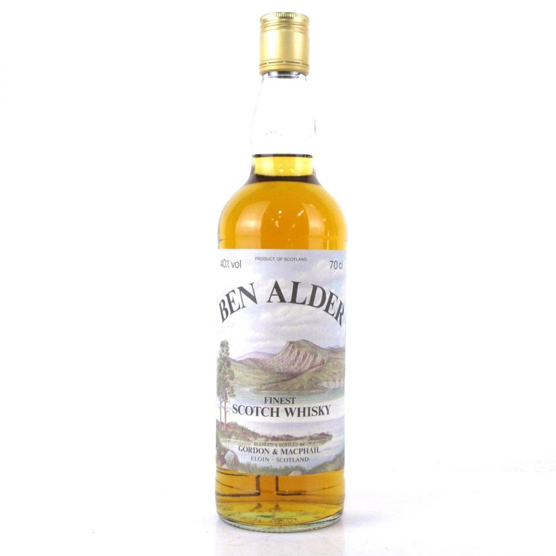 Ben Alder Finest Scotch Gordon and MacPhail