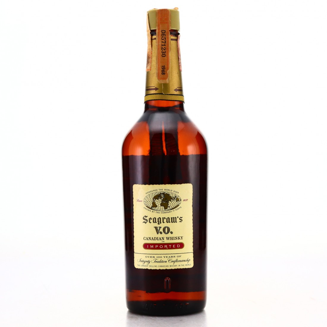 Seagram's VO 1968 Canadian Whisky