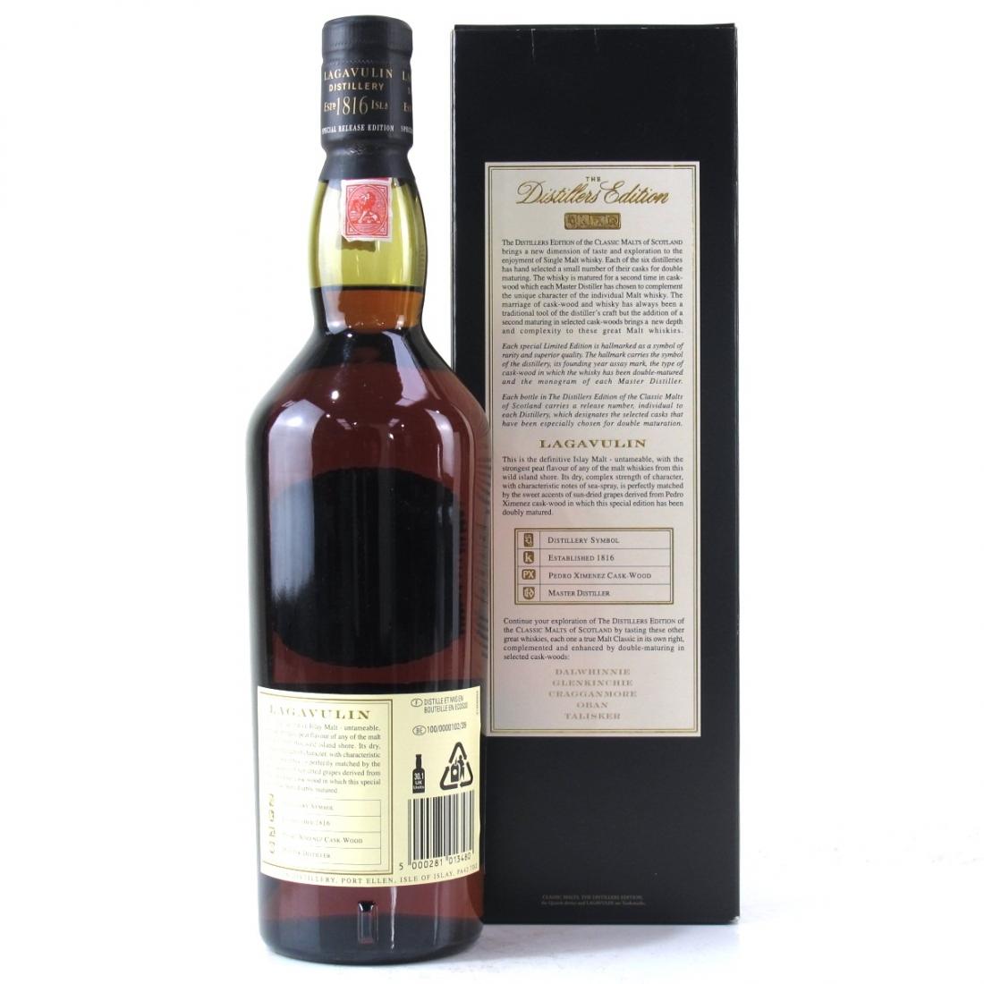 Lagavulin 1989 Distillers Edition 2005
