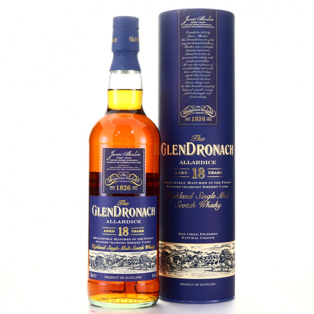 Glendronach 18 Year Old Allardice / 2009 Release
