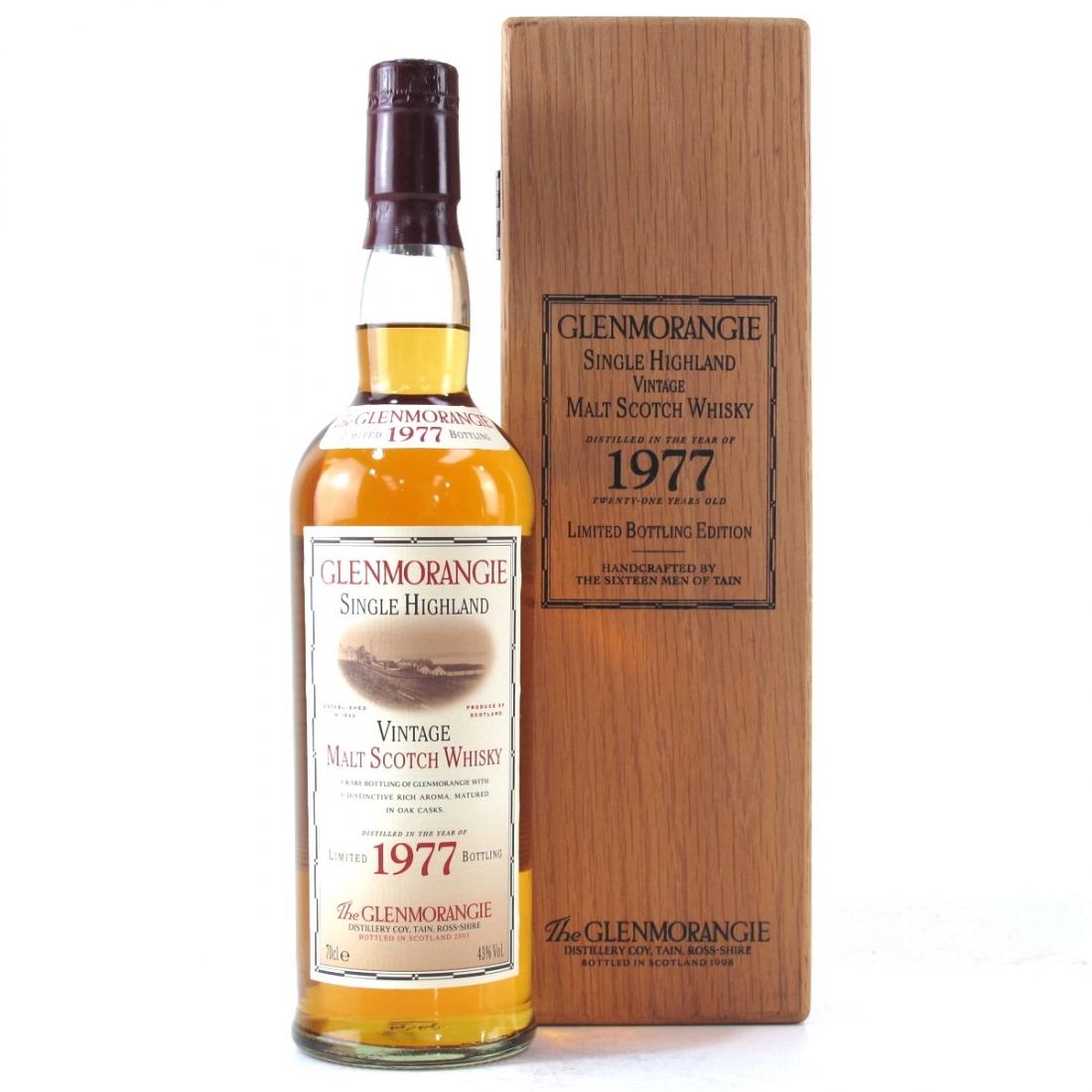 Glenmorangie 1977 21 Year Old / Bottled 2003