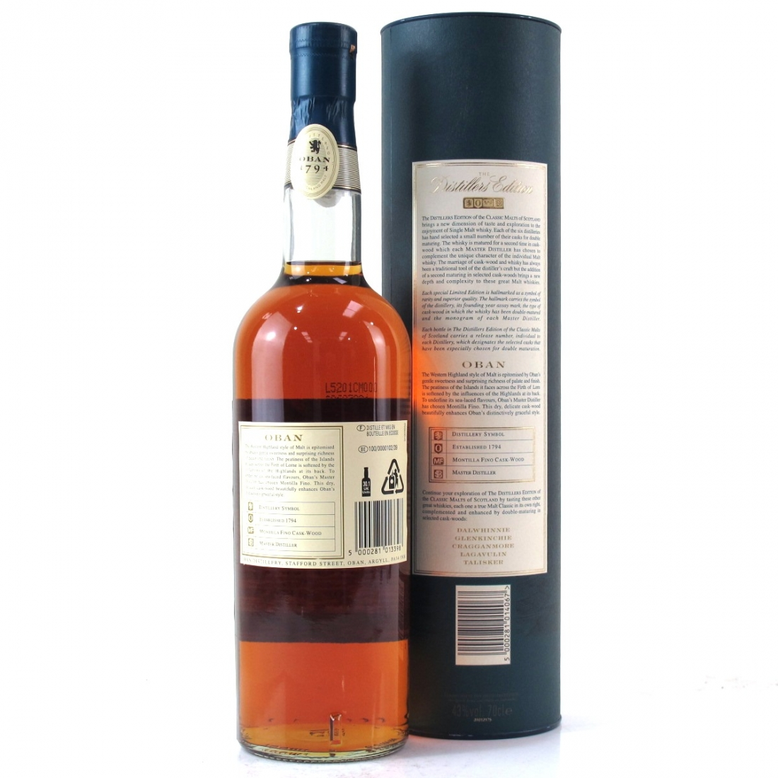 Oban 1991 Distillers Edition 2005