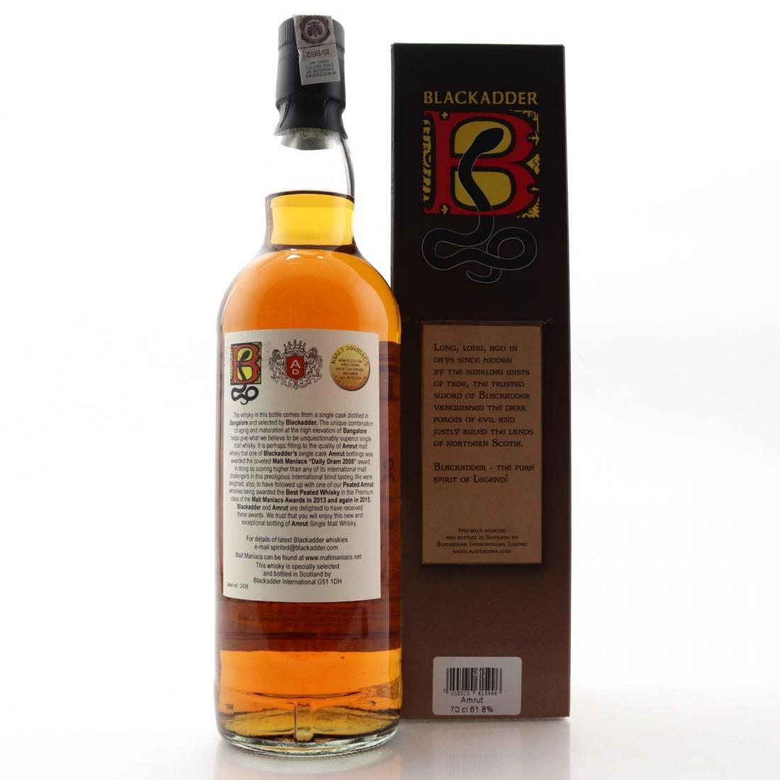Amrut Raw Cask Blackadder Bourbon Cask