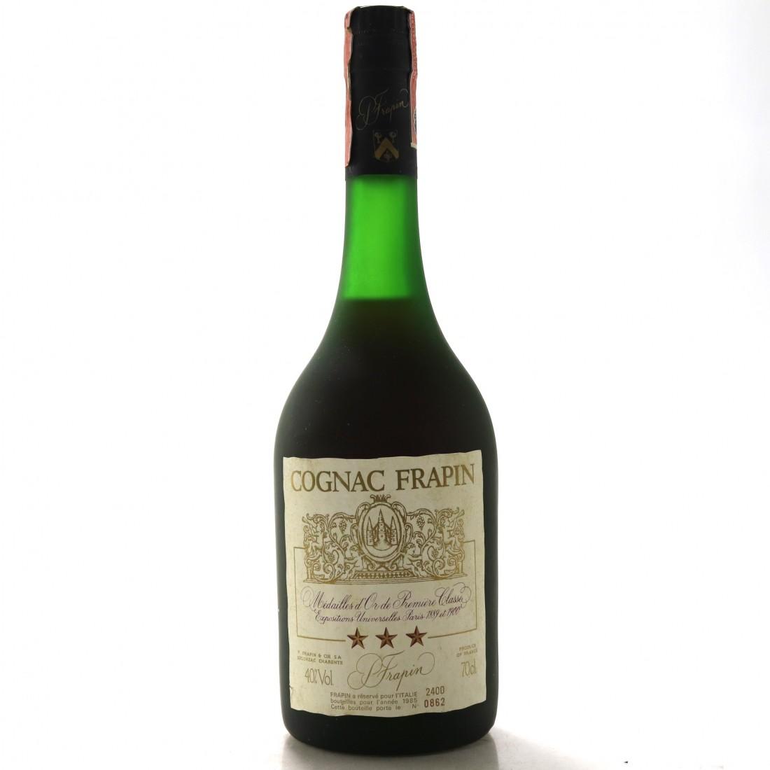 Frapin 3 Star Cognac 1985