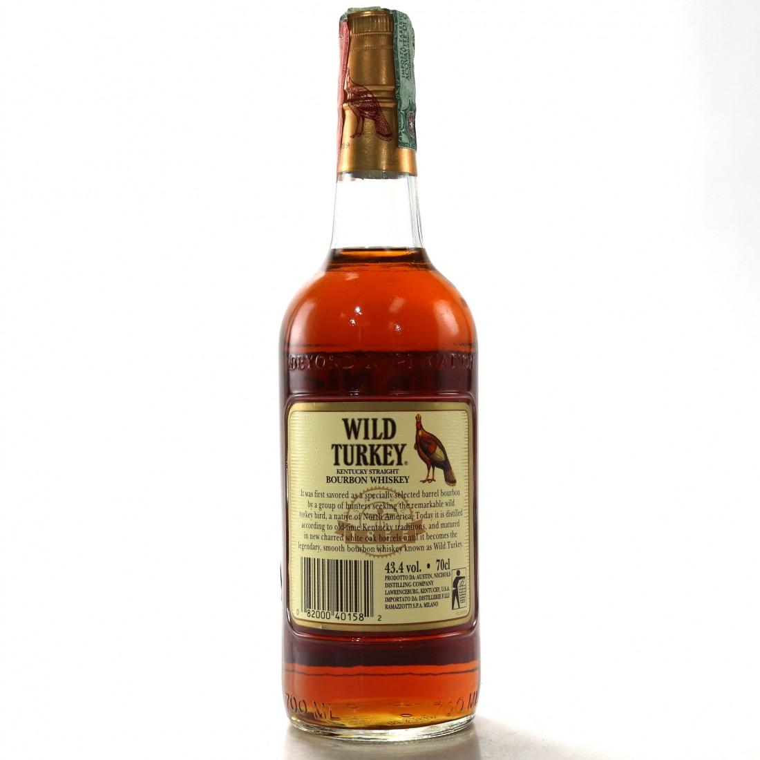 Wild Turkey Old No.8 Brand 1990s