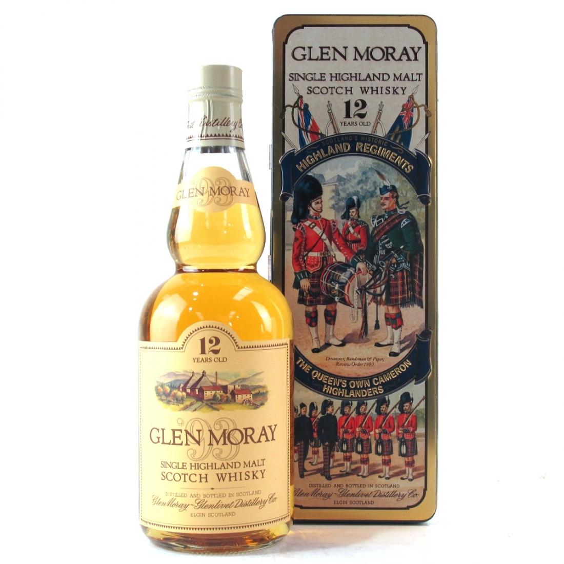 Glen Moray 12 Year Old / Queen's Own Cameron Highlanders