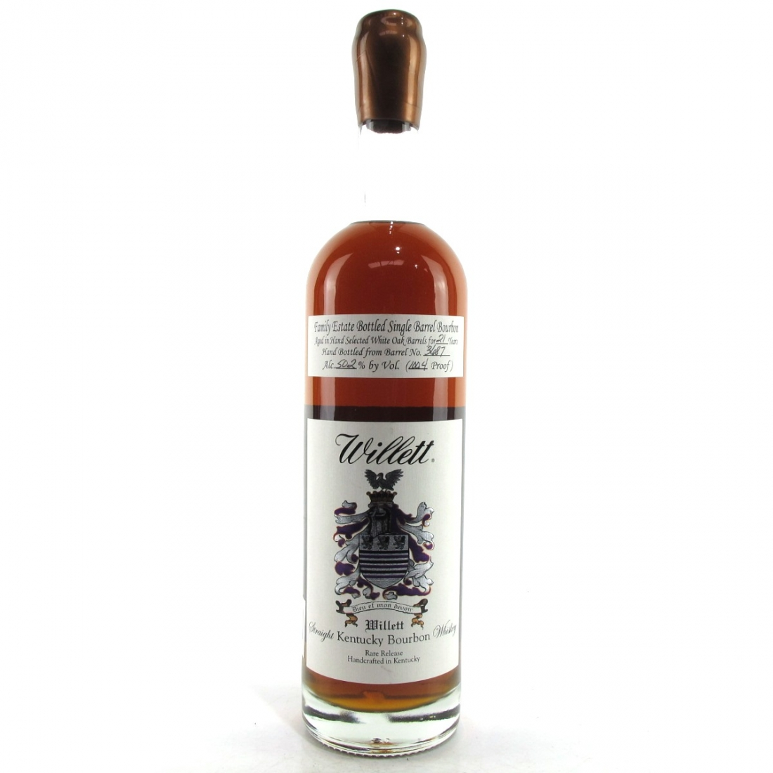 Willett Family Estate 21 Year Old Single Barrel Bourbon #3687 / The Party Source