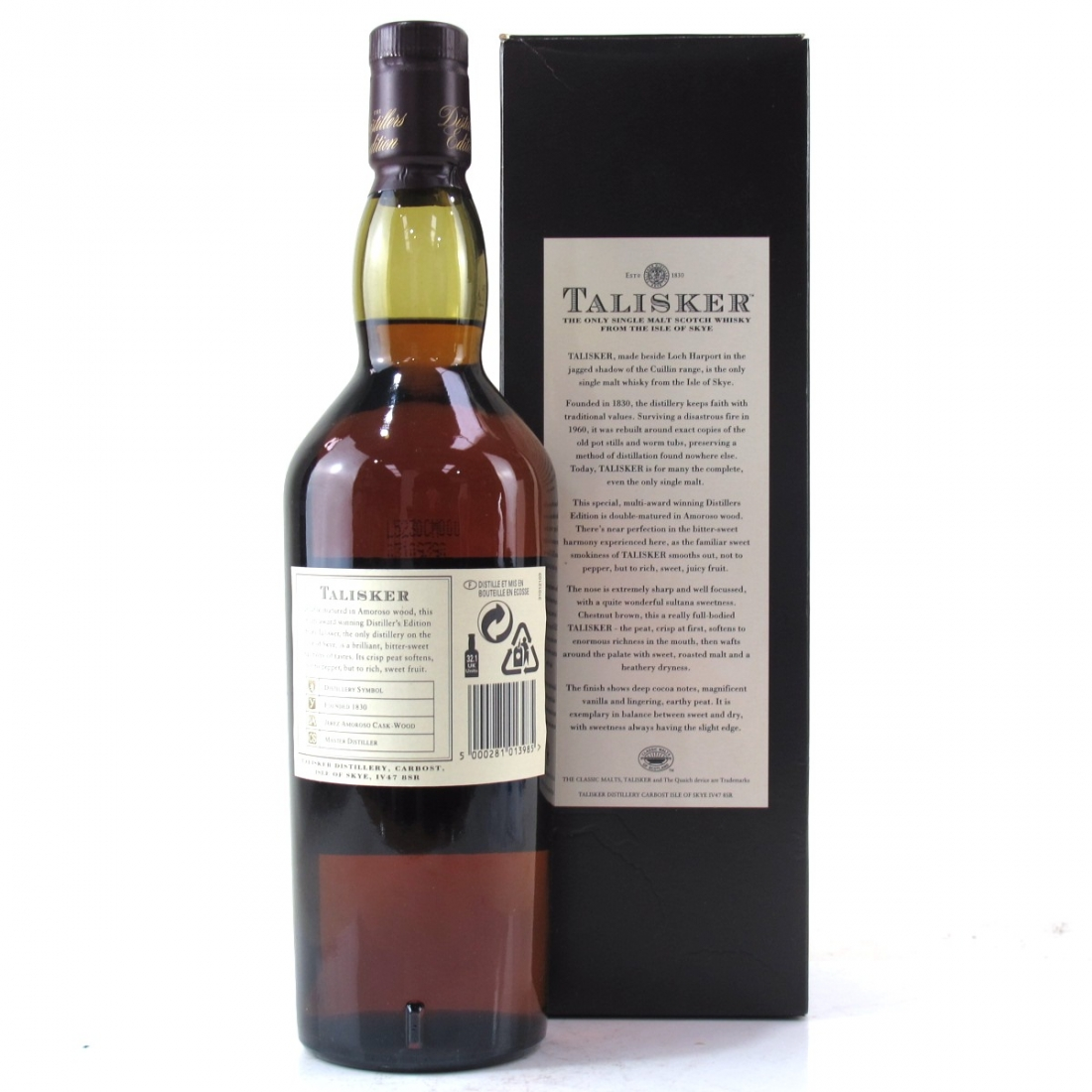 Talisker 1992 Distillers Edition 2005
