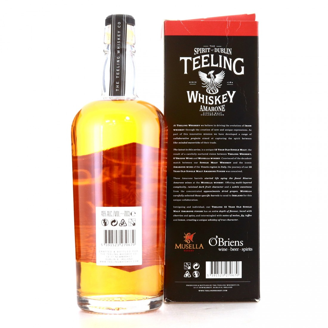 Teeling 12 Year Old / Musella Winery Amarone Cask Finish
