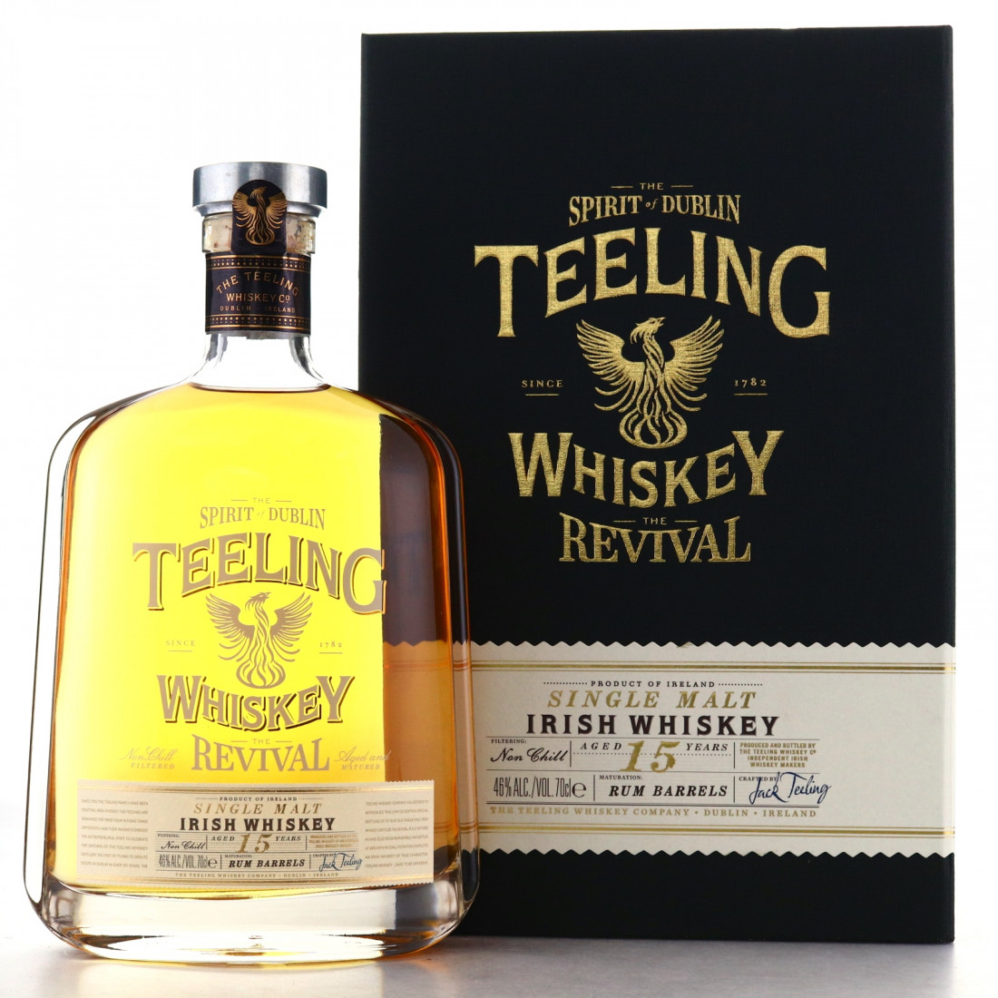 Teeling Whiskey 15 Year Old The Revival Volume 1 / Rum Barrels