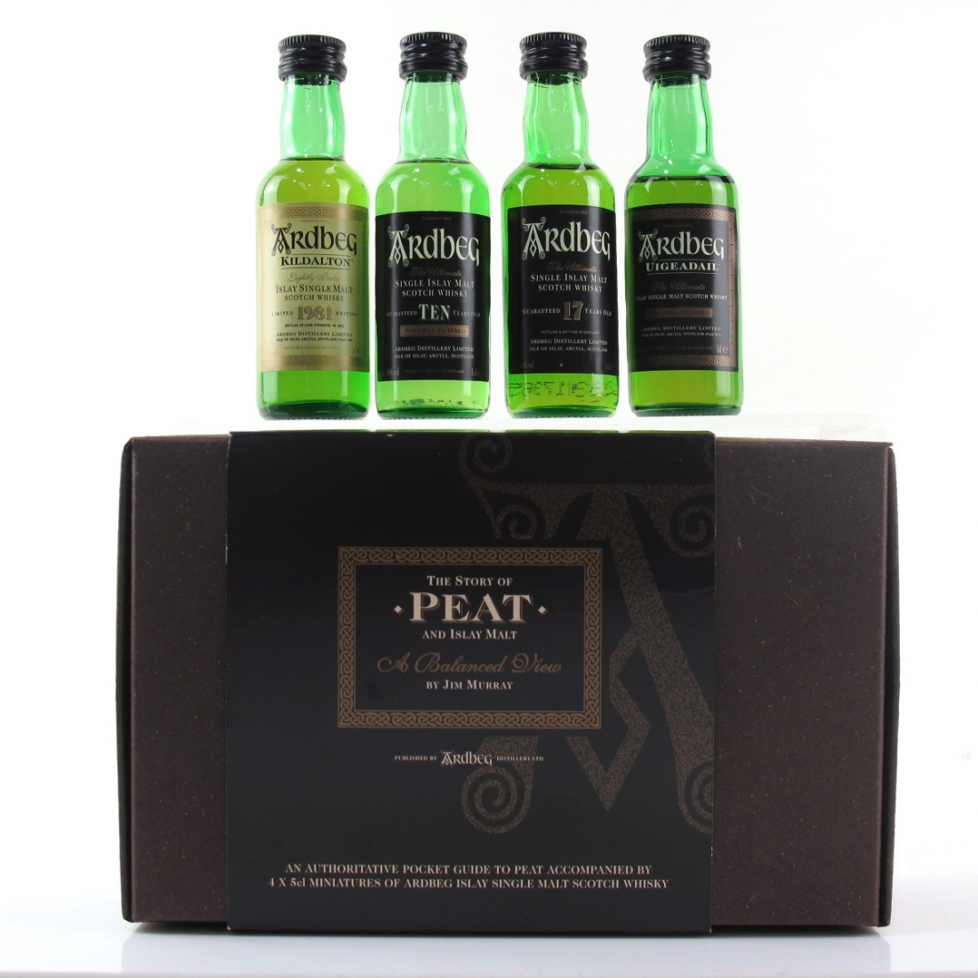 Ardbeg The Story of Peat Miniature Selection 4 x 5cl
