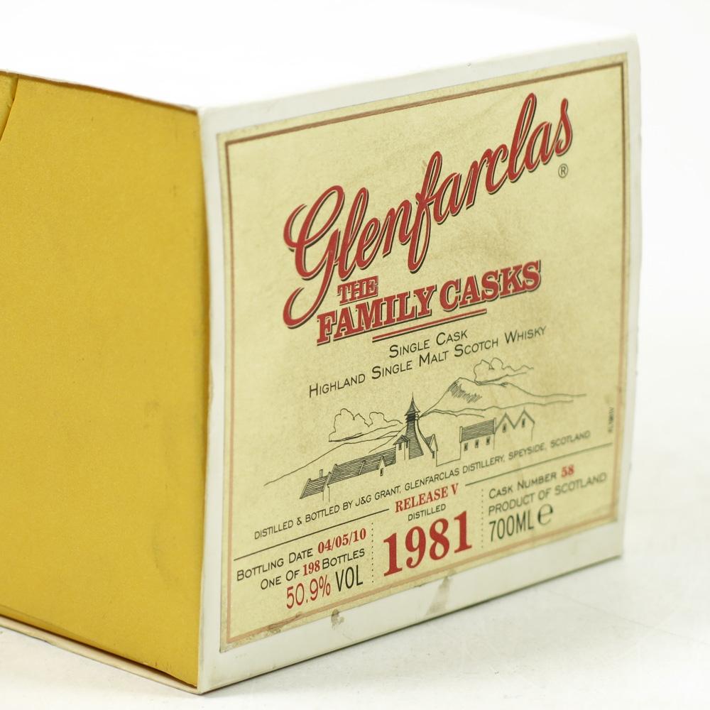 Glenfarclas 1981 Family Casks #58