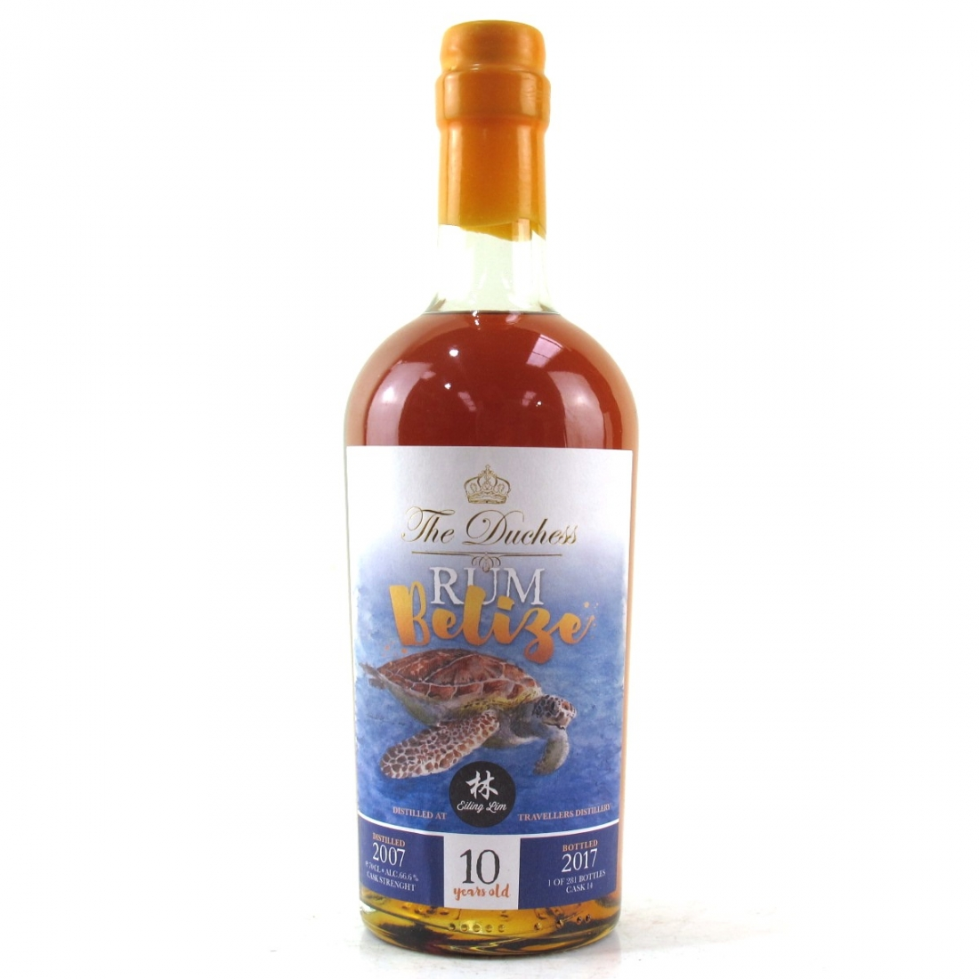 Travellers 2007 Dutchess 10 Year Old Belize Rum