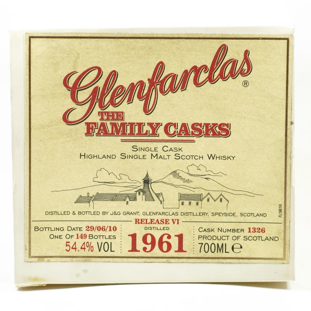 Glenfarclas 1961 Family Cask #1326