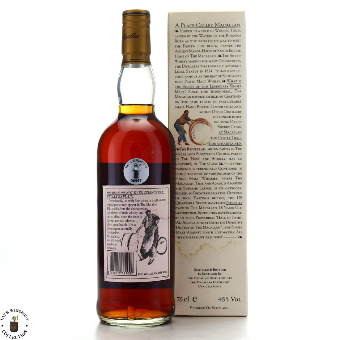 Macallan 1980 18 Year Old 75cl