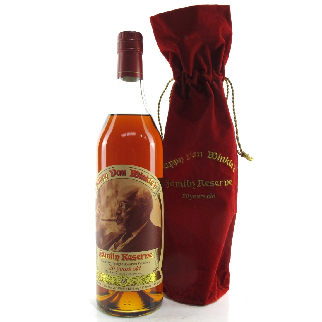 Pappy Van Winkle 20 Year Old Family Reserve / Stitzel-Weller