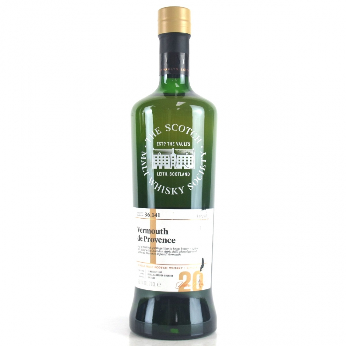 Benrinnes 1997 SMWS 20 Year Old 36.141
