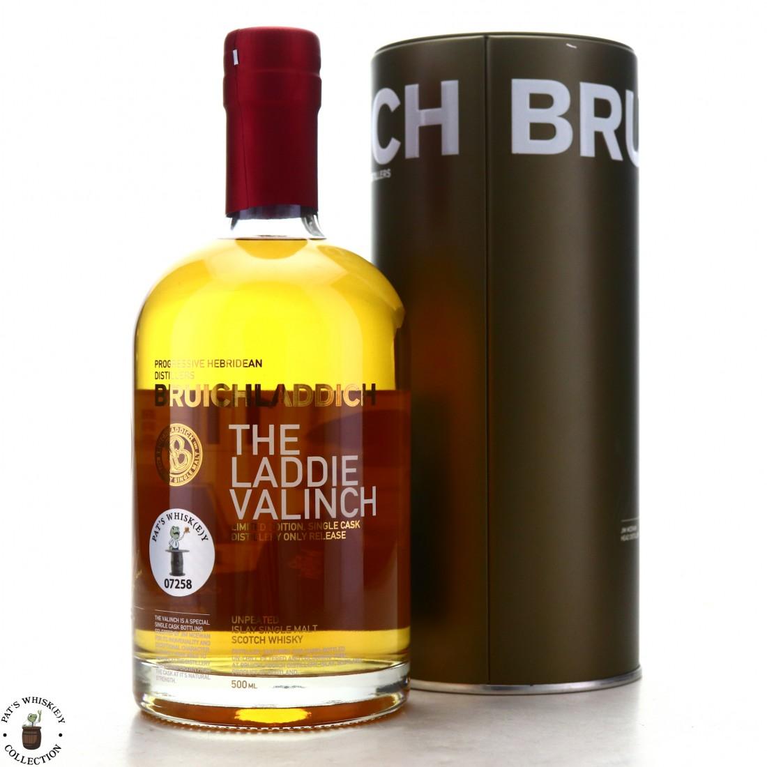 Bruichladdich 1992 Raymond Tibbs Valinch 22 Year Old / Calvados Finish