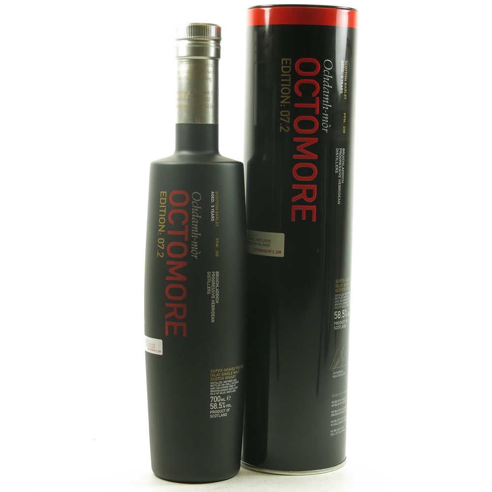 Bruichladdich Octomore 7.2 / Travel Retail Exclusive Front