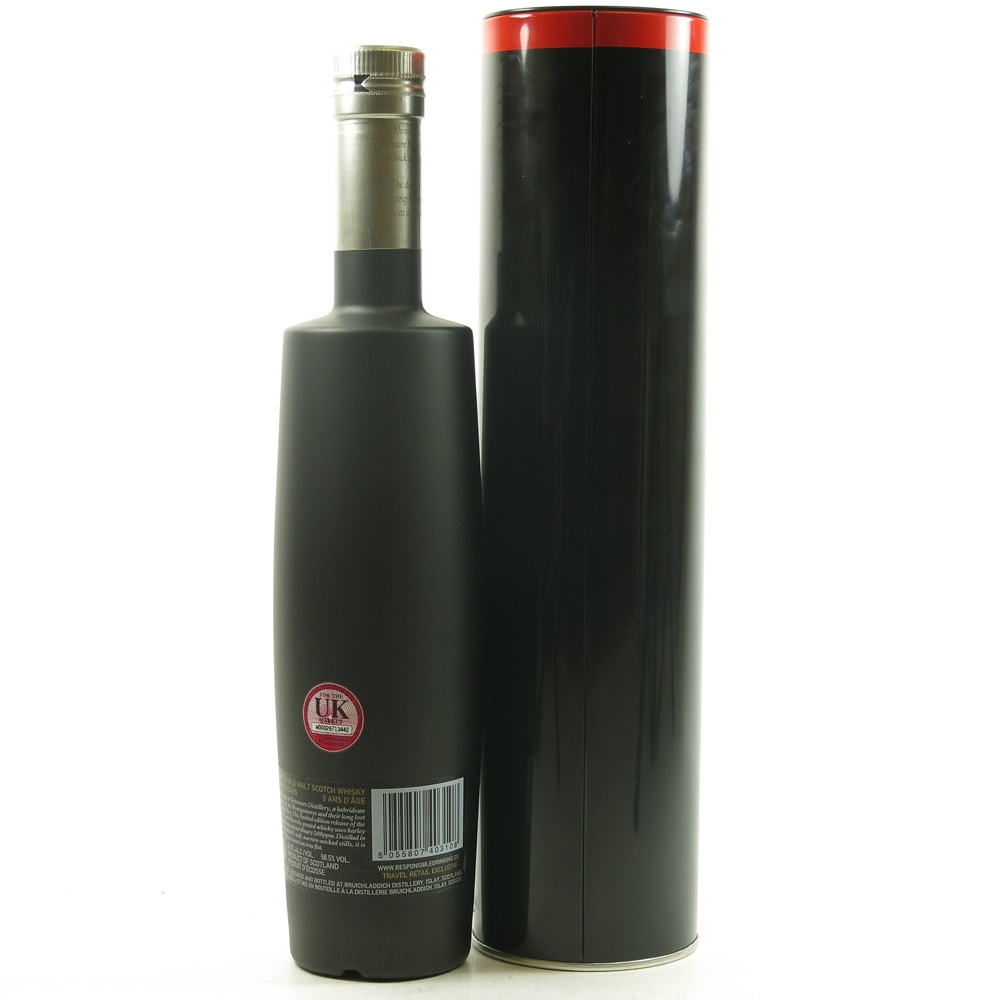Bruichladdich Octomore 7.2 / Travel Retail Exclusive Back