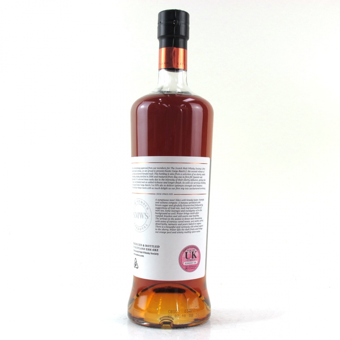 Exotic Cargo 11 Year Old SMWS Blended Batch 02