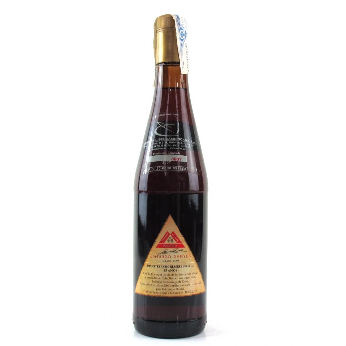 Edmundo Dantes 15 Year Old Extra Anejo Rum