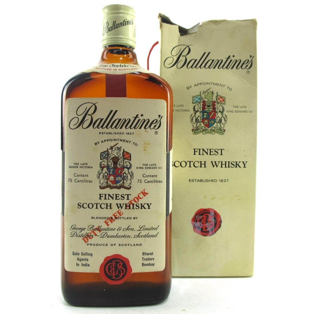 Ballantine's Finest circa 1980s
