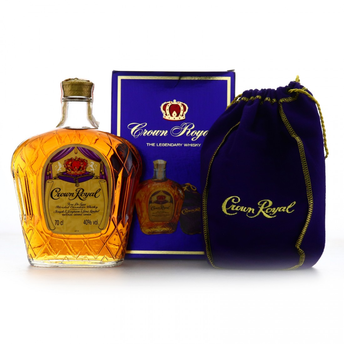 Seagram's Crown Royal 1983 Canadian Whisky