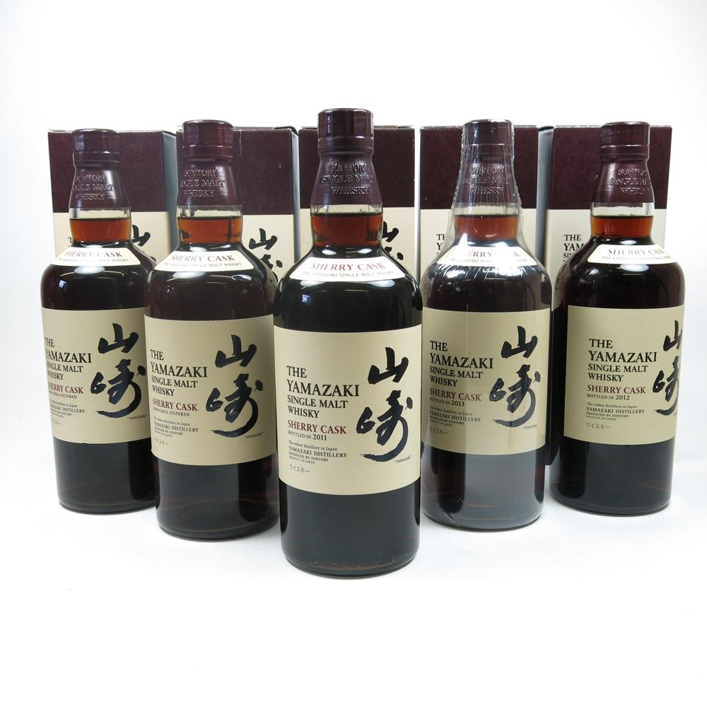 Yamazaki Sherry Cask Selection 5 x 70cl Front