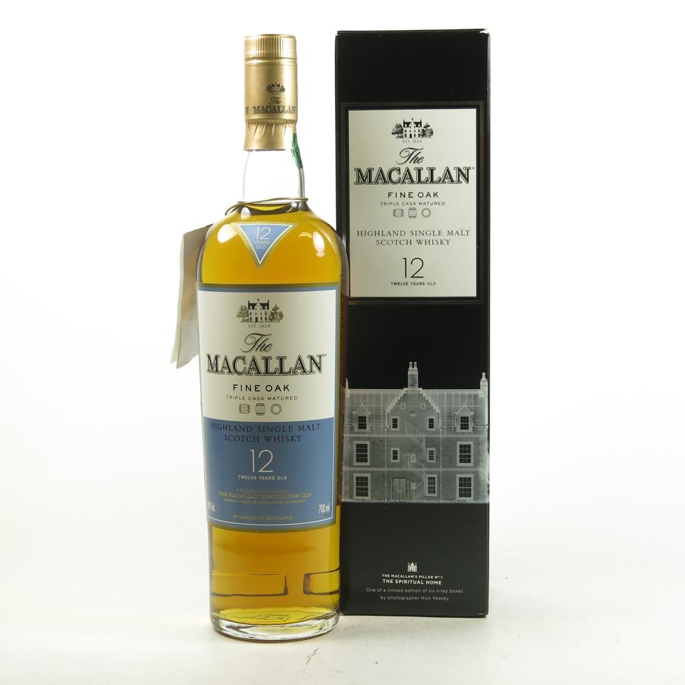 Macallan 12 Year Old Fine Oak Nick Vasey Edition Front
