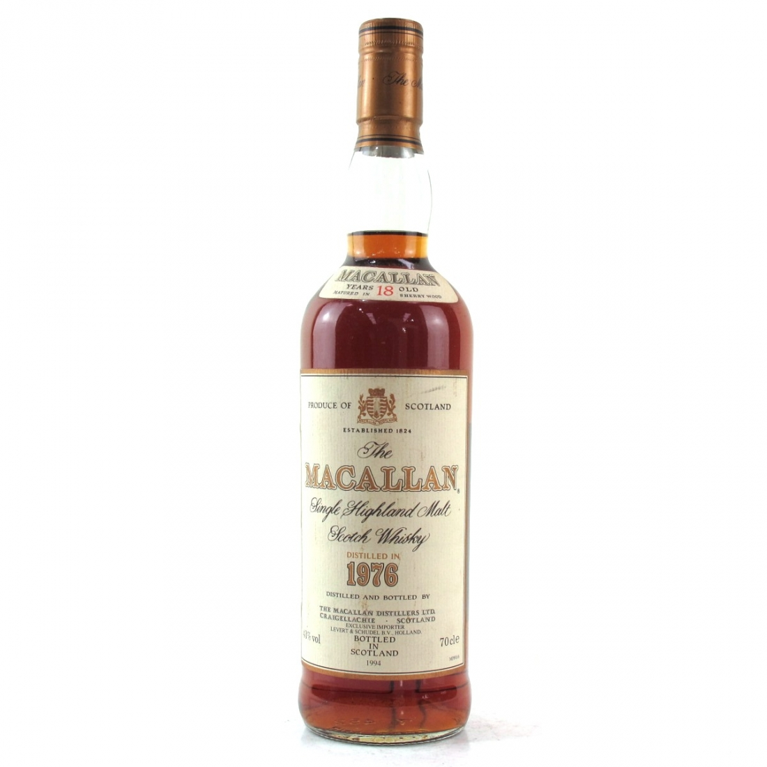 Macallan 18 Year Old 1976 / Levert and Schudel Import