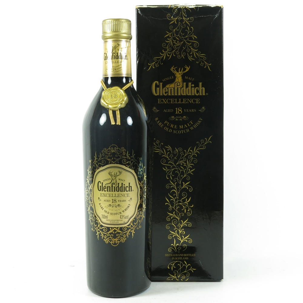 Glenfiddich 18 Year Old Excellence front