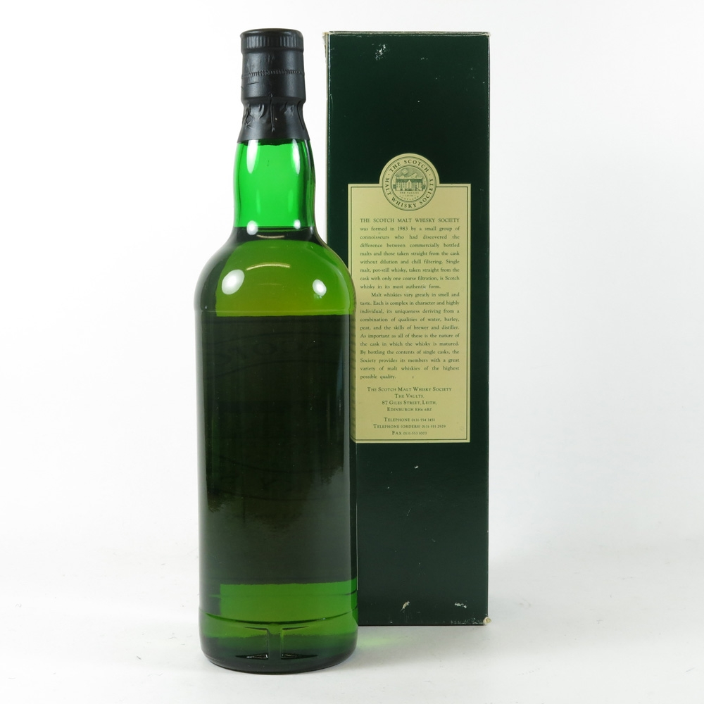 Bowmore 1989 SMWS 9 Year Old 3.40 back