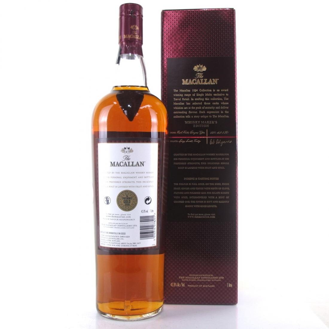Macallan Whisky Maker's Edition 1 Litre