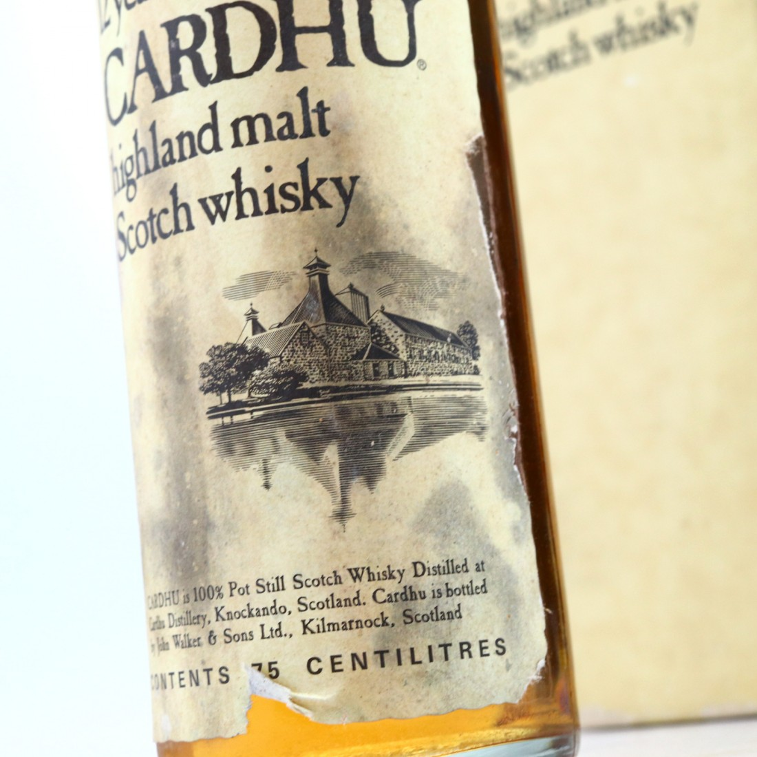 Cardhu 12 Year Old John Walker and Sons 1970s / Wax & Vitale Import