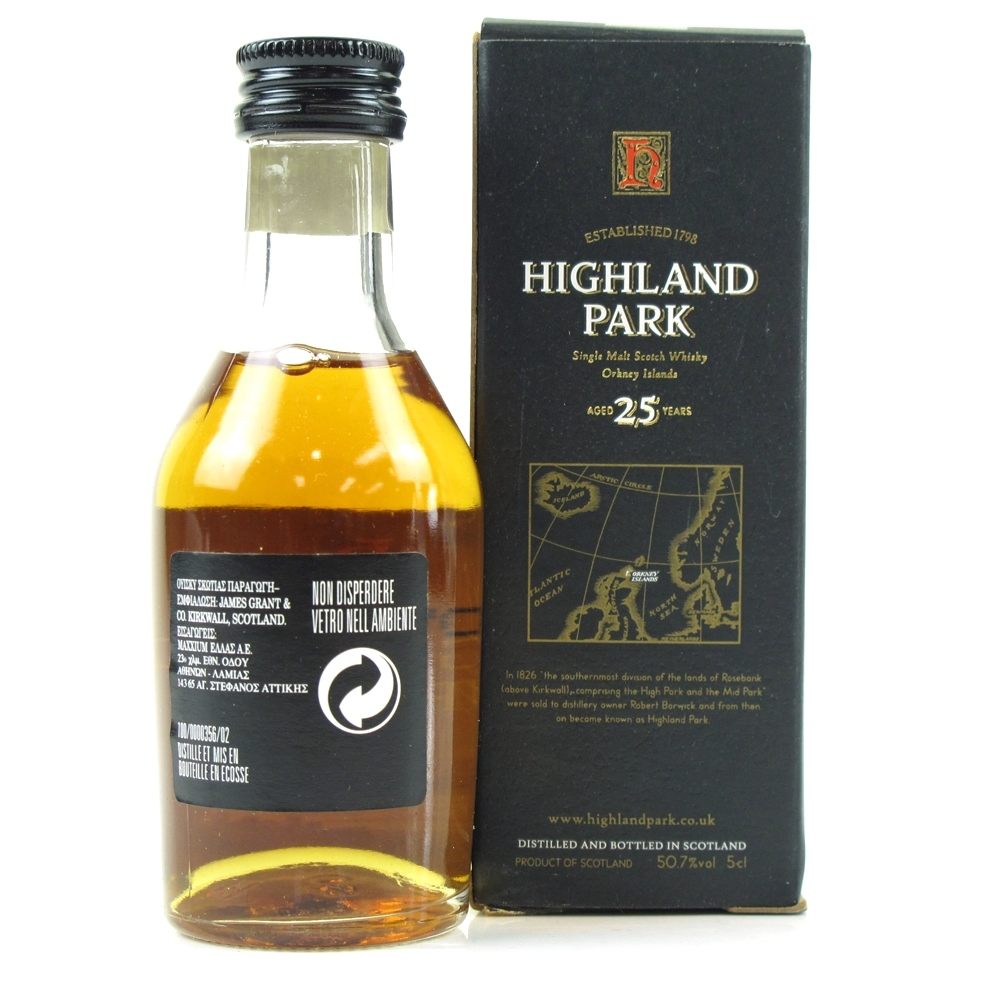 Highland Park 25 Year Old Miniature 5cl