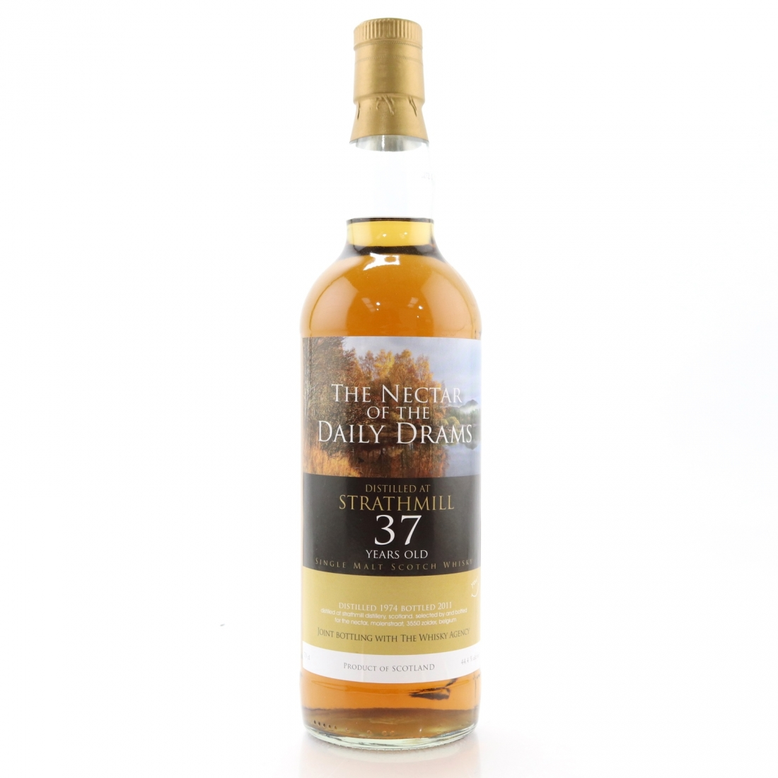 Strathmill 1974 Whisky Agency 37 Year Old / Nectar