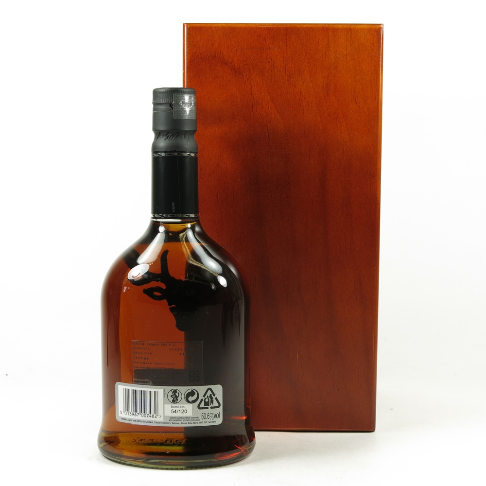 Dalmore 1968 43 Year Old Back